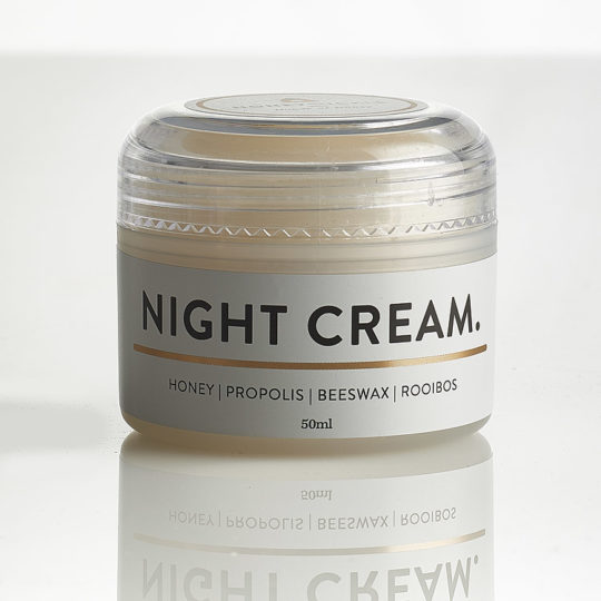 Honeysuckle natural cosmetics night cream available online