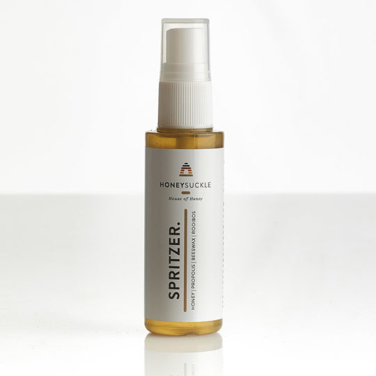 Honeysuckle natural cosmetics face spritzer available online