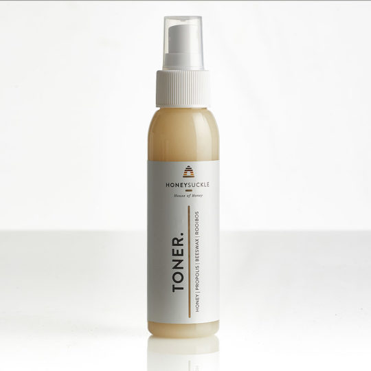 Honeysuckle natural cosmetics toner available online