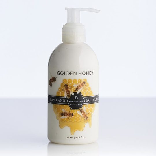 Honeysuckle natural cosmetics Golden Honey Hand & Body Lotion