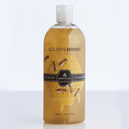 Honeysuckle natural cosmetics Golden Honey Foam Bath