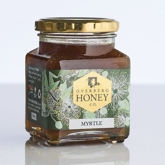 Raw myrtle honey available online