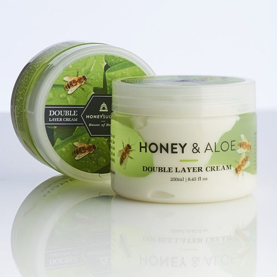 Honeysuckle natural cosmetics Honey & Aloe Double Layer Cream