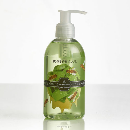 Honeysuckle natural cosmetics Honey & Aloe Hand Wash