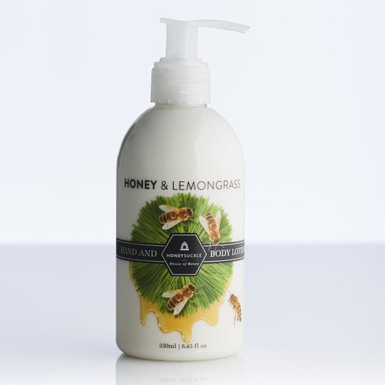 Honeysuckle natural cosmetics Honey & Lemongrass Hand & Body Lotion