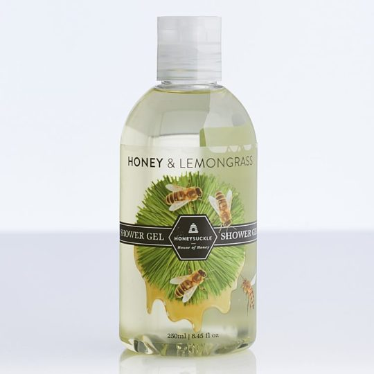 Honeysuckle natural cosmetics Honey & Lemongrass Shower Gel