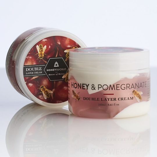 Honeysuckle natural cosmetics honey & pomegranate