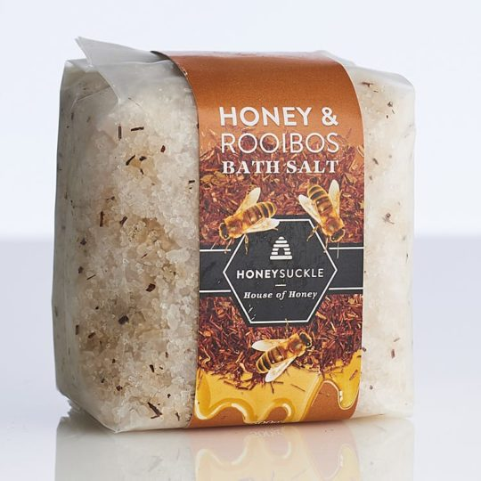 Honey & Rooibos bath salts