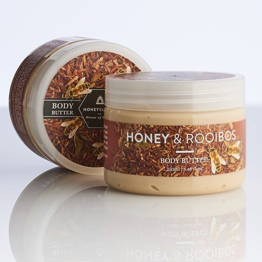 Honeysuckle natural cosmetics Honey & Rooibos Body Butter