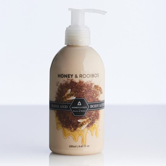 Honeysuckle natural cosmetics Honey & Rooibos Hand & Body Lotion