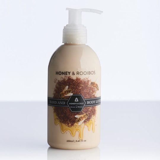 Honeysuckle natural cosmetics Honey & Rooibos Hand & Body Lotion