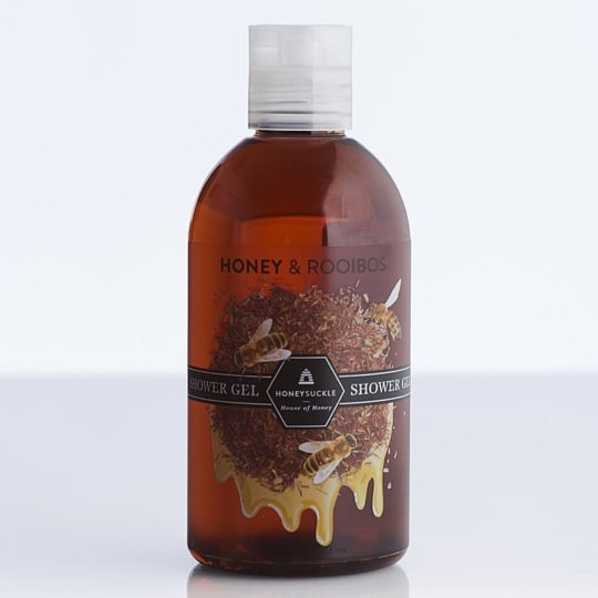 Honeysuckle natural cosmetics Honey & Rooibos Shower Gel