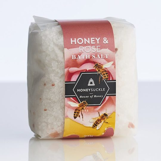 Honey & Rooibos bath salts