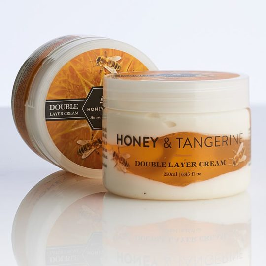 Honeysuckle natural cosmetics Honey & Tangerine Double Layer Cream