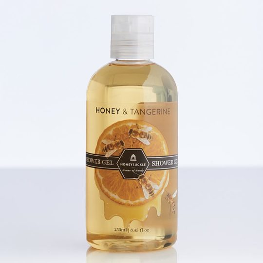 Honeysuckle natural cosmetics Honey & Tangerine Shower Gel