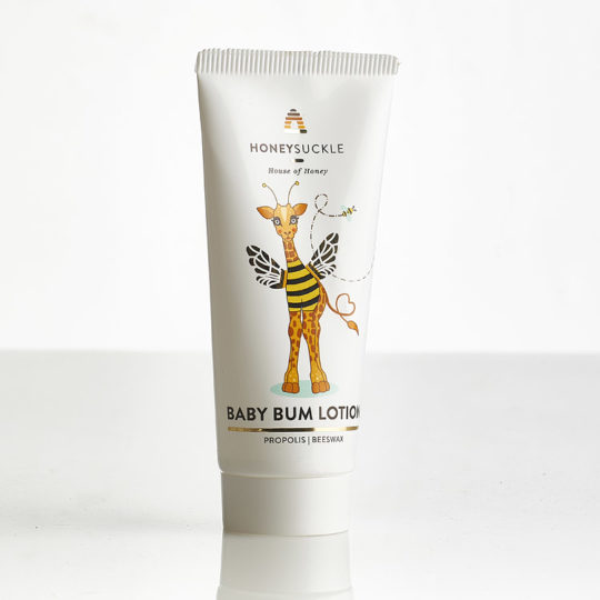 Honeysuckle baby bum lotion available online